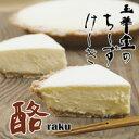 和菓子屋が本気で作り上げた本格チーズケーキ酪(らく)