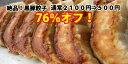 500円ポッキリ!今だけお得!肉汁じゅわ~激旨黒豚餃子30個入り