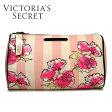 【送料無料】VICTORIA'S SECRET ヴィクトリアシークレット ポーチ コスメポーチ ピンク花柄