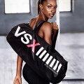 【送料無料】VICTORIA'SSECRETヴィクトリアシークレットスポーツバッグフィットネスバッグナイロン素材大容量大きめブラック