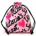 【送料無料】ヴィクトリアシークレットポーチVICTORIA'SSECRETビクトリア巾着巾着袋小物入れロゴ