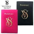 【送料無料】本革VICTORIA'SSECRETヴィクトリアシークレットビクシーパスポートケースカードケースパスケースブラックピンク