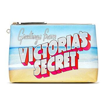 【送料無料】VICTORIA'S SECRET Getaway Beauty Bag ヴィクトリアシークレット クラッチバッグ 小物入れ ファッションバッグ ビーチバッグ