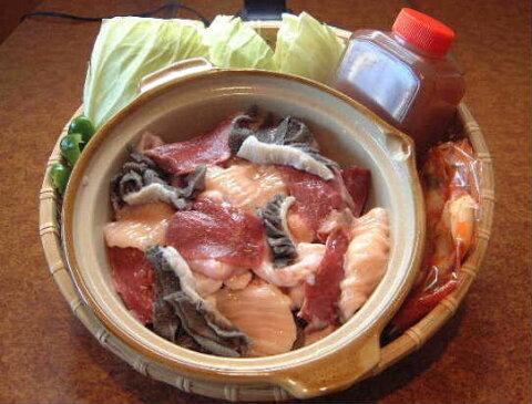 もつ鍋セットB(4〜5人前)チャンポン麺(2玉)付き