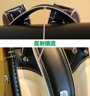ランドセル男の子フィットちゃんラヴニールブラックドラゴンモデルタフロックA4フラットファイルドラゴン刺繍6年間保証日本製