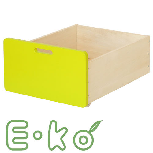 E-ko(いいこ) E-koベッド下収納BOX EKC-00043GR 収納ボックス box ベッド下収納 天然木 シングルベ...