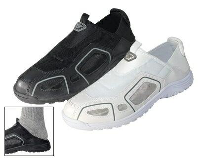 ■丸五 クレオスプラス 踏めるくん #840 22.5〜28cm【ホワイト】作業靴
