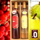 【ギフト】Ruby&Jade 山形県産 100% 本格果実酒 フルーツワイン 500ml×2本【フル...