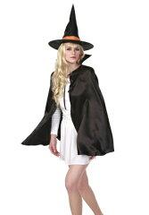 【ハロウィン 衣装 ハロウィン コスプレ 仮装 変装 大人 ハロウィン衣装】魔女セット 2...