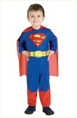 キッズ・スーパーマン 赤ちゃん用Infサイズ (Kids Superman Inf) [アメコミ ヒーロー スーパーマン コスプレ ハロウィン衣装 映画]【562329】
