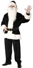 GOGOサンタさん (ブラック)  [サンタクロース コスプレ サンタ衣装 メンズ 男性用コスチューム クリスマス衣装]【827733】【02P05Sep15】
