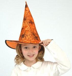 【超特価70%OFF】 キッズ ビビットハット【(子供用)魔女の帽子】 [ハロウィン衣装、ハロウィーン、コスチューム、仮装、子供、女の子]【468370】