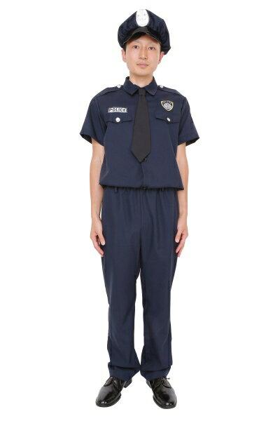 MENコスアメリカンポリス[警官ポリスマンコスチュームコスプレ仮装衣装イベント宴会]【A-1201_855446】