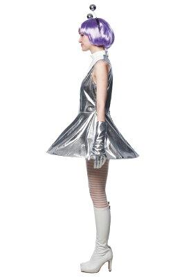 [宇宙人コスプレ]キュートエイリアン[エイリアンコスプレ宇宙人UFOコスプレピンクレディ女性ハロウィンアイドル制服]【866299】
