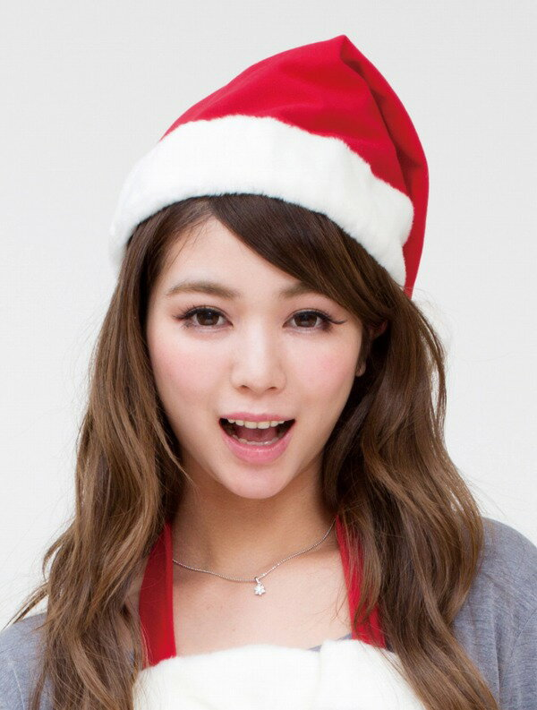 サンタ帽子[サンタコスプレサンタぼうしクリスマスグッズ]【016944】