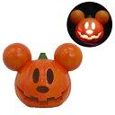 ライトアップ ブリンキング パンプキン ミッキー(Lightup Blinking Pumpkin Mickey) [ハロウィンオーナメント 飾り付け ディズニー]【025803】_HB