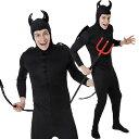 [悪魔 コスプレ] デビルタイツ メンズ (大人男性用) [悪魔 衣装 ハロウィン衣装 ハロウィーン ...