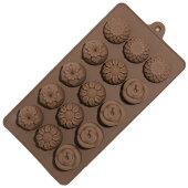 シリコンモールド花4種類製菓道具お菓子型シリコンお菓子作りチョコレートモールド石鹸手作りキャンドル樹脂粘土抜き型マイナス40℃〜220℃対応