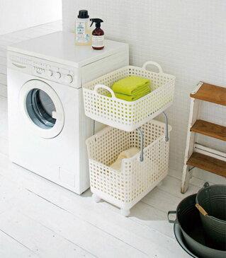 ●吉川国工業所 like-it スカンジナビアスタイル ランドリーサポートバスケット グリーン SCB-6 洗濯 洗濯用品 キッチン ランドリー