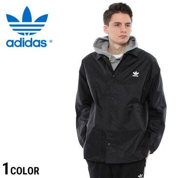 アディダス コーチジャケット adidas ナイロン 胸 ロゴ コーチ ジャケット TREFOILメンズ カジュアル 男性 ファッション アウター ライト CW1313
