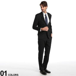 LAUREN RALPH LAUREN (ローレン ラルフ ローレン) ウール混 マイクロチェック シングル 2ツ釦 スーツ ULTRA FLEXブランド メンズ 男性 紳士 スーツ ビジネス フォーマル シングルスーツ ノータック RLLETO1EZ0139