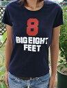 BIG8feet3 Ladies Tシャツ サーフTシャツ・レディース・サーフブランド
