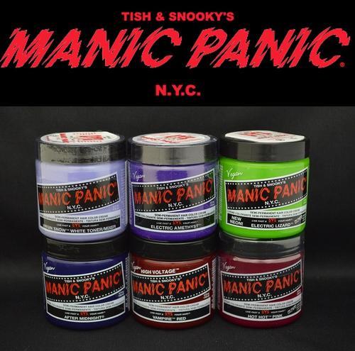 【送料無料】マニックパニック / MANIC PANIC ヘアカラー 選べる最大の6個セット!!【マニック パニック/マニパニ/ヘアカラー/毛染め/髪染め/発色/艶色/安全/manicpanic/MP】プレゼント付き!まとめて購入!【05P03Dec16】 MANIC PANIC(マニック パニック) その最大の特徴は『発色』『艶感』『安全性』【マニパニ 6個セット!】