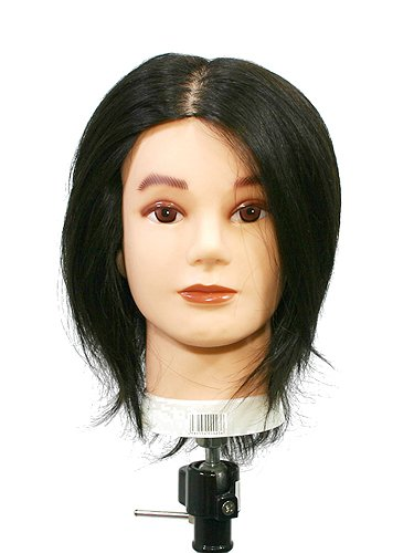 【送料無料】カットマネキン メンズ X5台セット!!【05P03Dec16】 #技術向上#美容師#勉強用#試験#人間と同じような毛流れの植毛にしています。