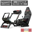 送料無料Next Level Racing レーシングシミュレータ F-GT 金属製フレーム GT フォーミュラポジション対応 NLR-S010【国内正規品】