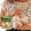 化粧ポーチやペンケースにも使える!72-1393花柄薔薇柄バラ柄ローズポーチロンドンLONDON筆箱ペンケース