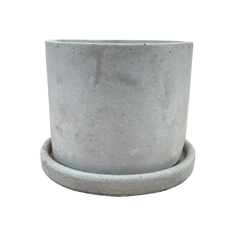 植木鉢 おしゃれ コンクリートポット CC002-115 4号(11.5cm) / 陶器鉢 セメント