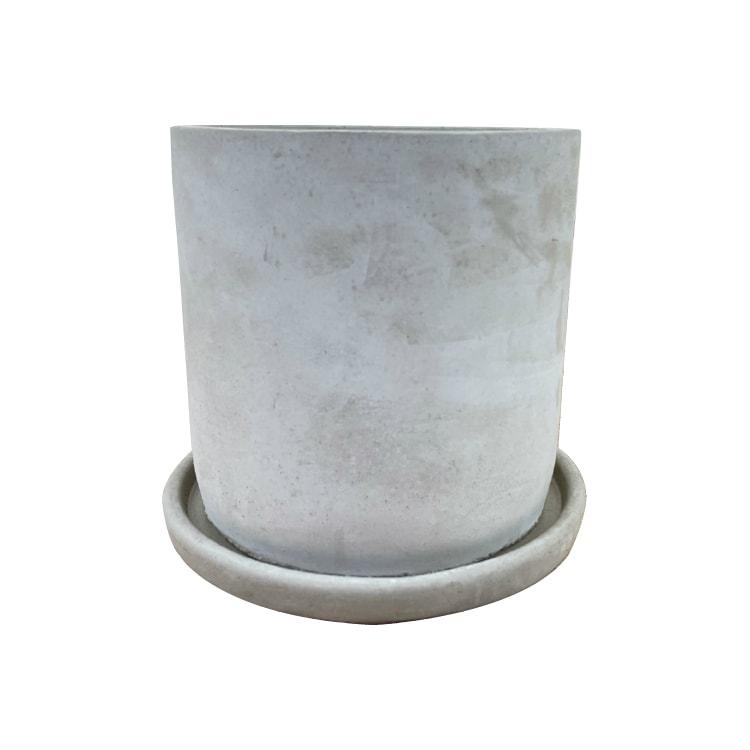 植木鉢 おしゃれ コンクリートポット CC002-170 5.5号(17cm) / 陶器鉢 セメント