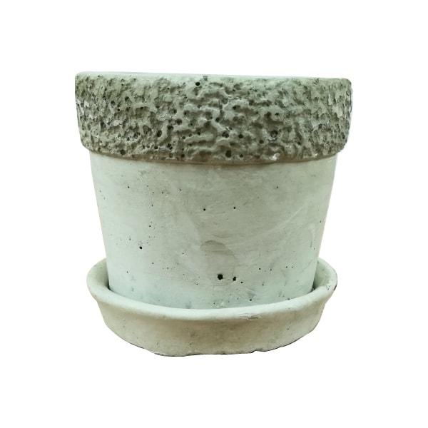 植木鉢 おしゃれ コンクリートポット KT001-085 3号(8.5cm) / 陶器鉢 石 セメント