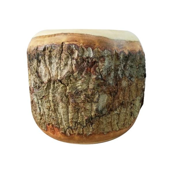 植木鉢 おしゃれ マンゴーウッドポット ST9712-180 6号(18cm) / 鉢カバー 天然木