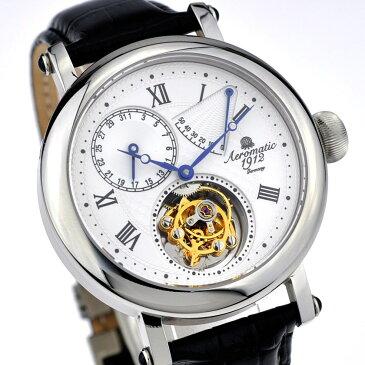 Aeromatic1912 エアロマティック エアロマチック トゥールビヨン Tourbillon 腕時計 メンズ パイロットウォッチ [A1277] 並行輸入品 メーカー保証24ヵ月 収納ケース付き