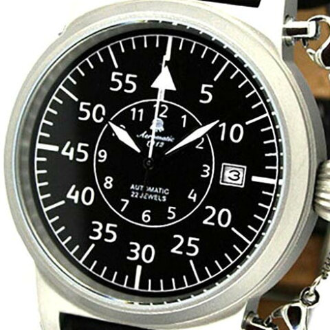 Aeromatic 1912 エアロマティック 1912 エアロマチック 1912 自動巻き 腕時計 メンズ パイロットウォッチ [A1330] 並行輸入品 メーカー保証24ヶ月&純正ケース付き