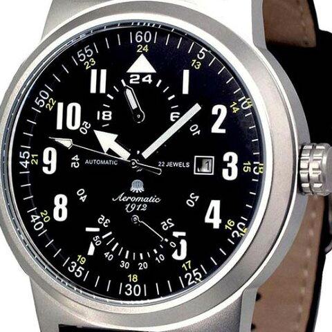 Aeromatic 1912 エアロマティック 1912 エアロマチック 1912 自動巻き 腕時計 メンズ パイロットウォッチ [A1416] 並行輸入品 メーカー保証24ヶ月&純正ケース付き