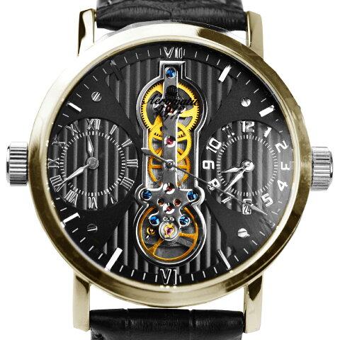Aeromatic1912 エアロマティック1912 電池式クォーツ 腕時計 [A1432] 並行輸入品 カレンダー GMT(ワールドタイム)