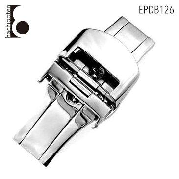 【ポイント10倍】【メール便送料無料】 腕時計ベルト用 バックル 尾錠 金具 社外品 汎用Dバックル 取付幅10mm/16mm/18mm/20mm 適用: TAG HEUER タグ・ホイヤー (尾錠) [ Eight - EPDB126 ]