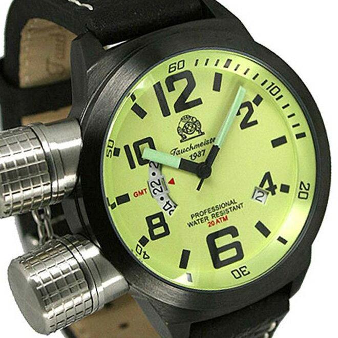 49295263d7 Tauchmeister 1937 トーチマイスター 1937 クォーツ 腕時計 メンズ ダイバーズウォッチ U-BOOT(ユーボート