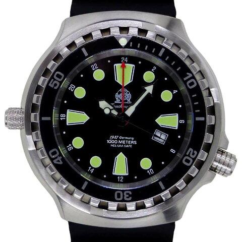 Tauchmeister 1937 トーチマイスター 1937 クォーツ 腕時計 メンズ ダイバーズウォッチ [T0275] 並行輸入品 メーカー保証24ヵ月 収納ケース付き