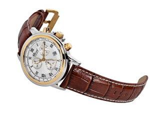 Bossartボッサートクォーツ腕時計メンズ[BW-1201-W2T-BRLE]並行輸入品メーカー保証24ヵ月純正ケース付き