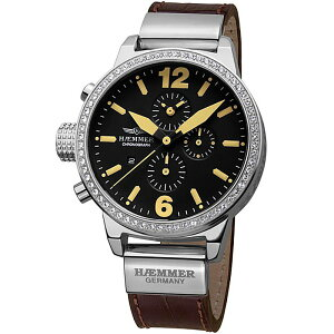 Haemmerハンマードイツクォーツ腕時計ファッション[DHC-05]並行輸入品純正ケースメーカー保証24ヶ月
