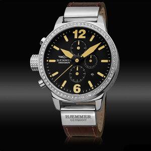 Haemmerハンマードイツクォーツ腕時計ファッション[DHC-05]並行輸入品純正ケースメーカー保証24ヶ月【新生活応援】