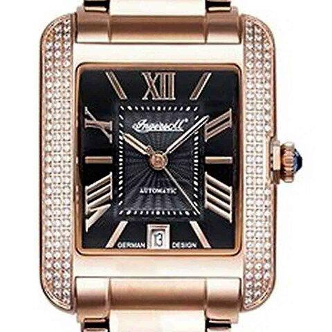 【残り1点】Ingersoll インガーソル/インガソール 自動巻き(手巻き機能あり) 腕時計 [IN1715RBK] 並行輸入品 純正ケース メーカー保証 24ヶ月 取扱説明書(日本語表記なし)