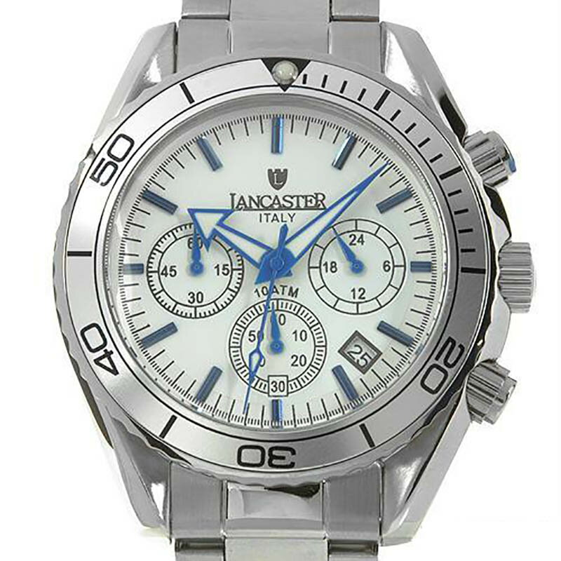 eeb1433da4 【残り1点】LANCASTER ランカスター 電池式クォーツ 腕時計 [OLA0500SL/CL]