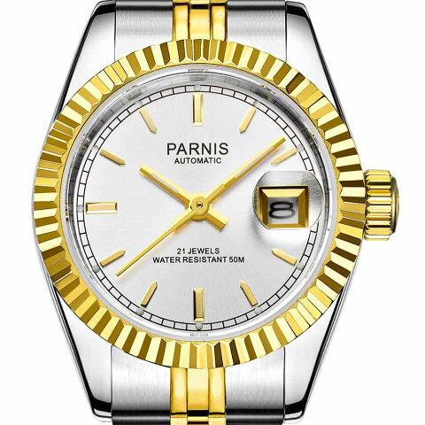 【NEW】PARNIS パーニス クォーツ 腕時計 レディース [PA2112-L-S3AS-SVSG-B] 並行輸入品 メーカー保証