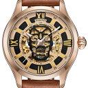 【残り1点】【NEW】PARNIS パーニス 自動巻き 腕時計 [PA6054-S3AL-RGBR] 並行輸入品 純正ケース メーカー保証12ヶ月