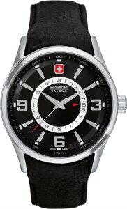 SwissMilitaryHanowaスイスミリタリーハノワクォーツ腕時計メンズウォッチ[06-4155-04-007]並行輸入品国際保証24ヵ月純正ケース付き