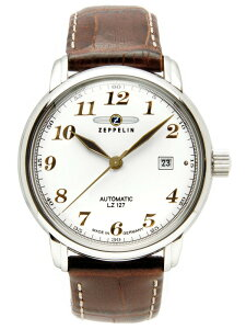 ZEPPELINツェッペリン自動巻き腕時計メンズブランド[7656-1]並行輸入品メーカー国際保証24ヵ月純正ケース付き